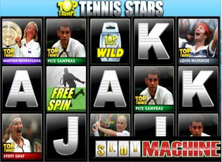 Trumps-Tennis-Stars-Slot-machine